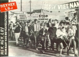 A powerful movement of opposition to the Vietnam War within the USA itself