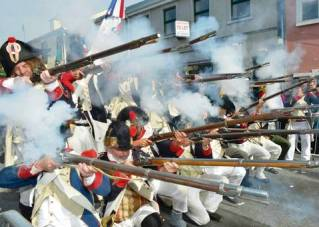 French musketry Mayo reenactment