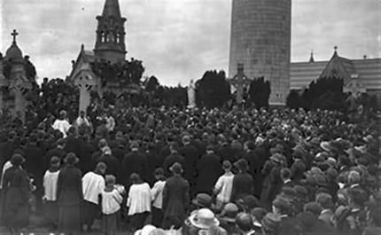 Cathal Brugha funeral Glasnevin