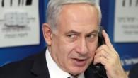 Netanyahu on Phone