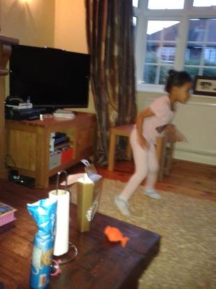 Caitlin dancing