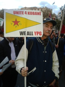 DB Kobane Rally London 2014