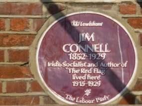 Jim Connell plaque large