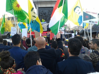 MEP maybe Kobane Rally London