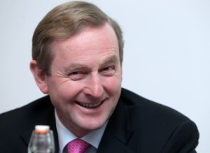Enda Kenny, Fine Gael, Taoiseach (Prime Minister) FG/ Labour coalition Irish Government.