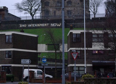 End Internment Now Derry Walls