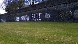 A previous use of Derry's Walls to highlight a case of internment
