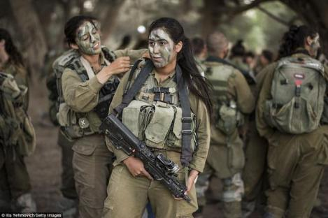 Face Paint Kurdish W Fighters