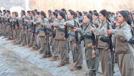 Less Photogenic Kurd Women Fighters