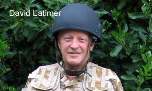 Rev Latimer British Army Uniform