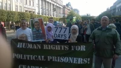 DAIC Political Prisoners banner Ian