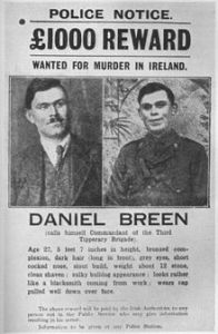 Daniel Breen wanted poster