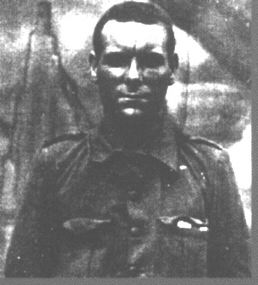 Jack Nalty in uniform of the 15th International Brigade