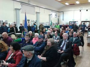 A shot of the attendance at the start of the formal part of the launch (Photo D.Breatnach)
