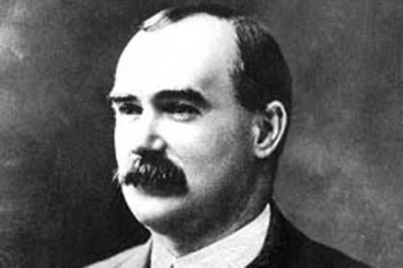 James Connolly, a revolutionary socialist, wanted revolution against world war
