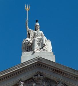 Britannia Statue, Somerset House, Strand