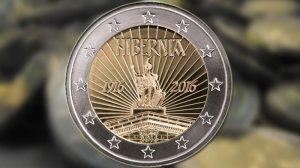 Hibernia €2 coin 2016