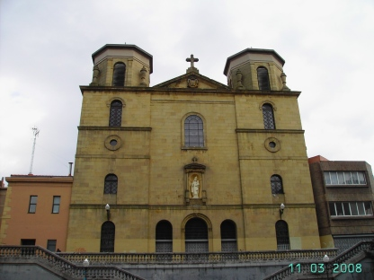 Iglesia del Karmelo, in Santutxu, Bilbao (photo from Internet)