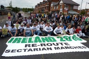 Ardoyne protest 12th July 2000