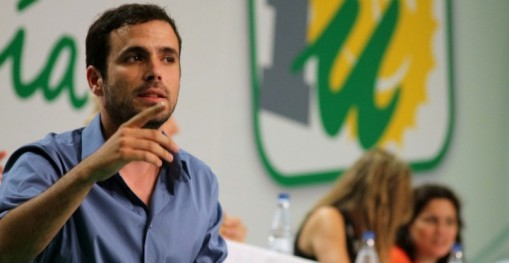 Alberto Garzón, head of a depleted United Left and one of only two successful IU candidates in the recent General Elections