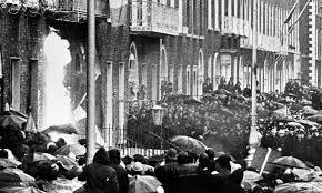 British Embassy Dublin petrol bombed 1972