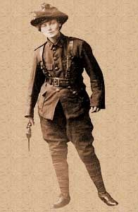 Constance Markievicz, Irish Citizen Army, second-in-command of the Stephen's Green/ College of Surgeons garrison