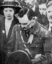 Patrick Pearse, at the ceremony in Glasnevn to remember Ó Donnobháin Rossa, whose body had been sent from the USA