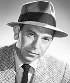 """Joe Friday from the """"Dragnet"""" TV series: """"Just the facts, ma'am."""""""