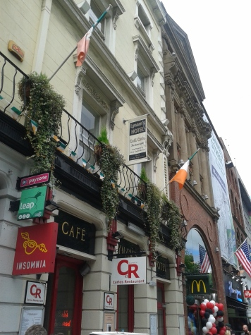 Lynham's Hotel, O'Connell Street, Dublin on Wednesday