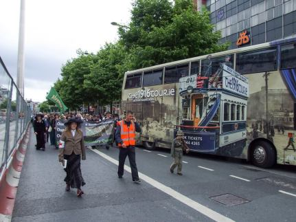 Moor St March passing 1916 Bus Tour.jpeg