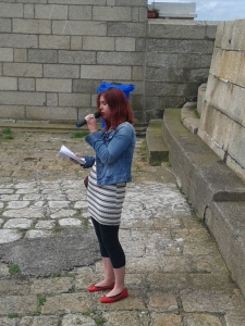 Niamh McDonald speaking on behalf of the Moore Street 2016 campaign