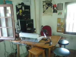 Recording room. Photo D.Breatnach