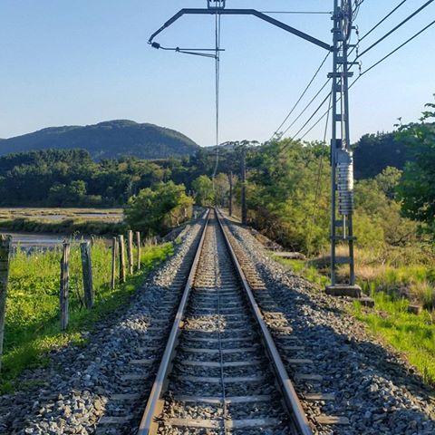 Train tracks Axpe Busturia