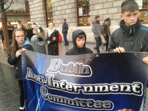 At the GPO (Photo: D.Breatnach)