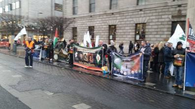 At the rally GPO (Photo: T.Conlon)