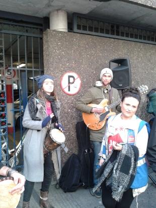 Percussionist, Guitarist, Acitivist (Photo: D.Breatnach)