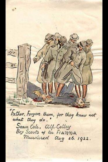Markievicz Cartoon Murder Gang Cole & Colley