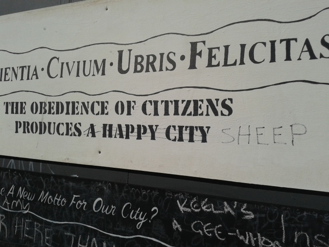 Obedience of citizens