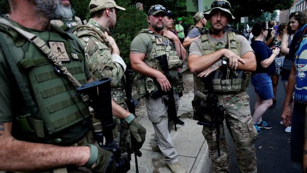 White Supremacists Armed Charlottesville