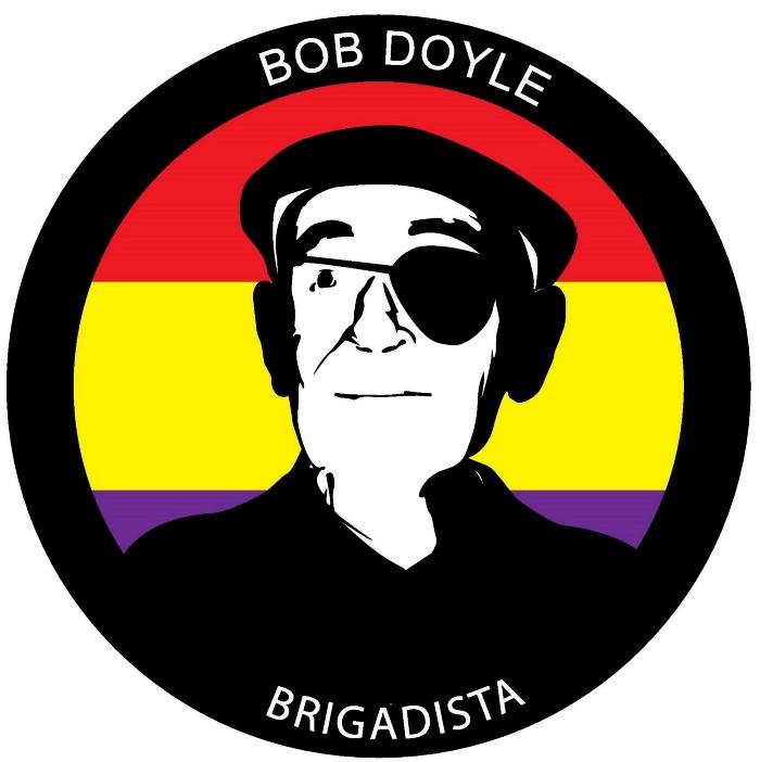 Brigadista Bob Doyle—Image designed by Nekane Orkaizagirre