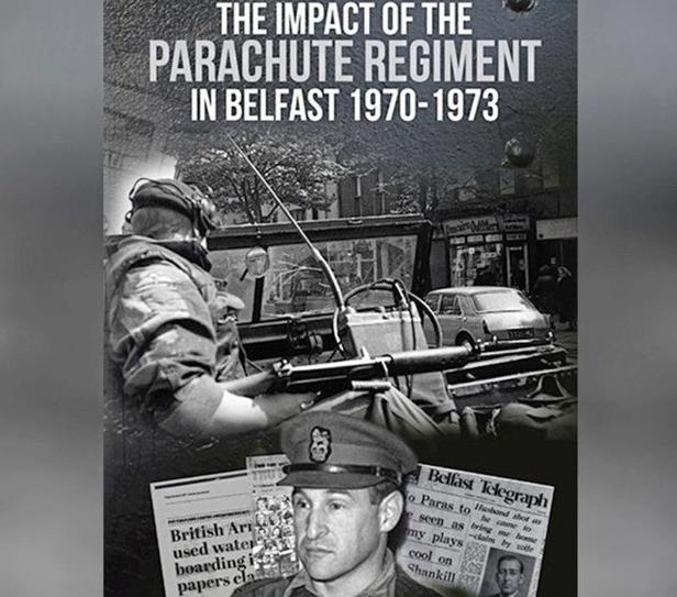 Book Cover Impact Parachute Regiment in Belfast 1970-73