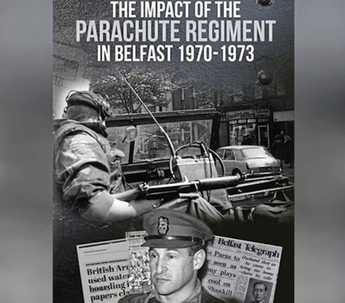 Book Cover Impact Parachute Regiment in Belfast 1970-73