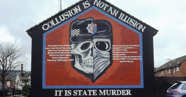Collusion State Murder Mural