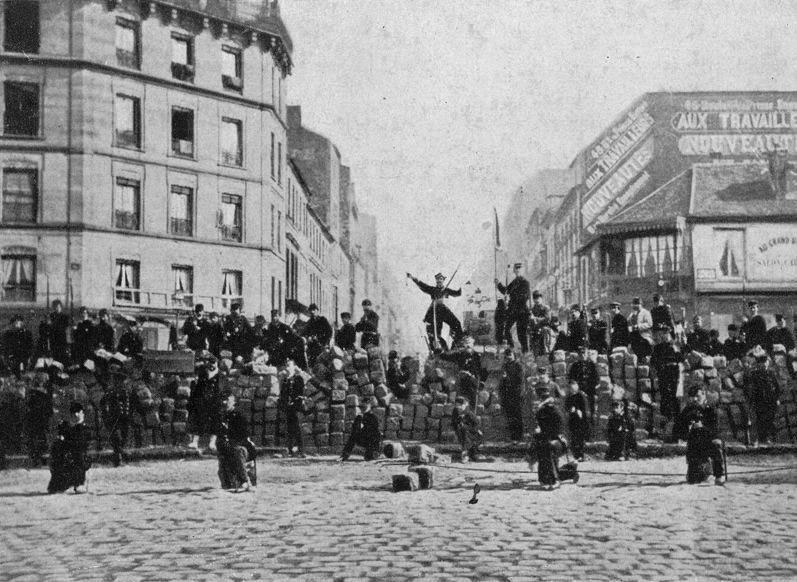 Communards Paris Barricade 1871