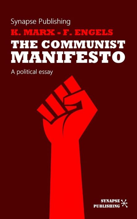 Communist Manifesto Clenched Fist Book Cover