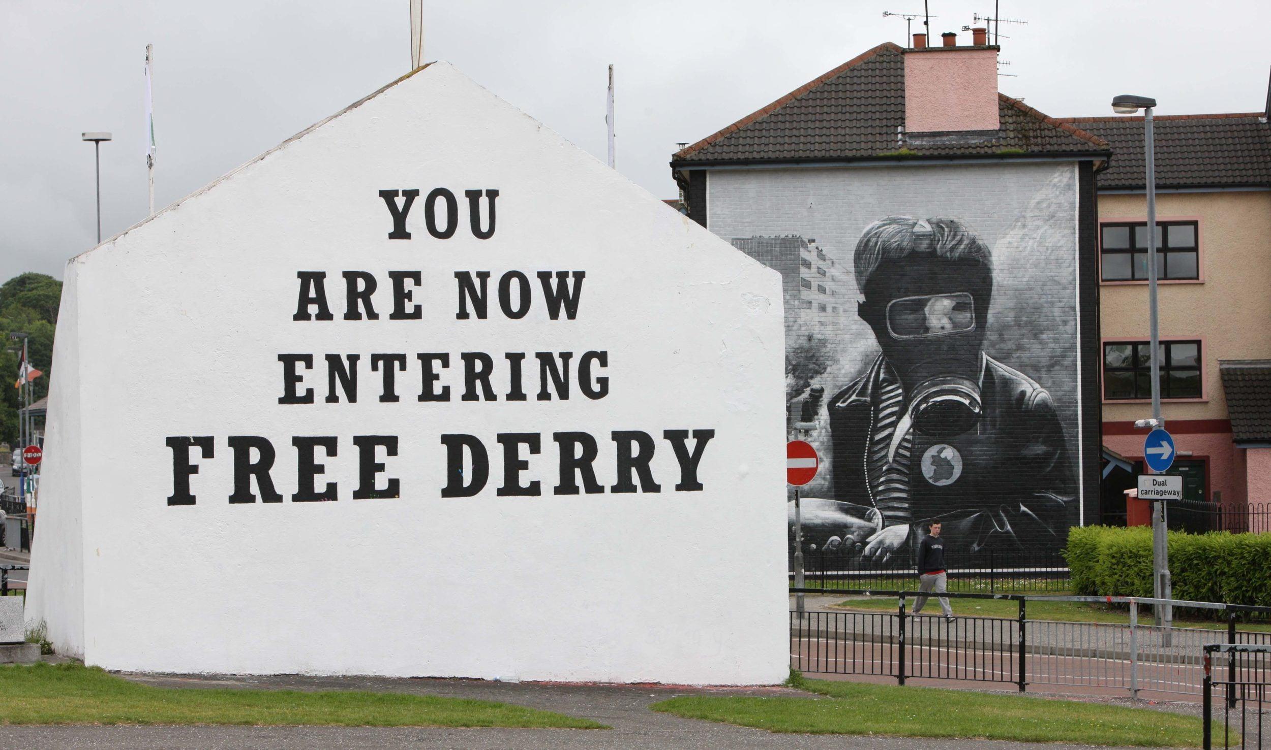 Free Derry Corner Gas Mask Images