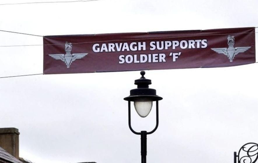 Garvagh Supports Soldier F Banner