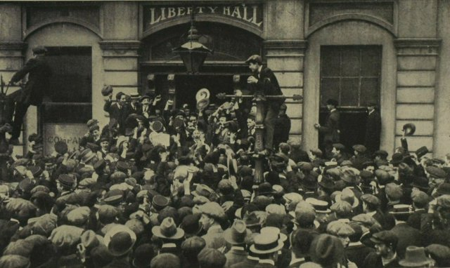 Packed Workers Liberty Hall 1913