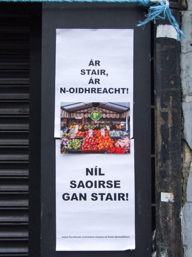 Postaer Dubalta Ar nOidhreacht & Nil Saoirse Gan Stair