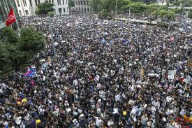 Huge Hong Kong Protest
